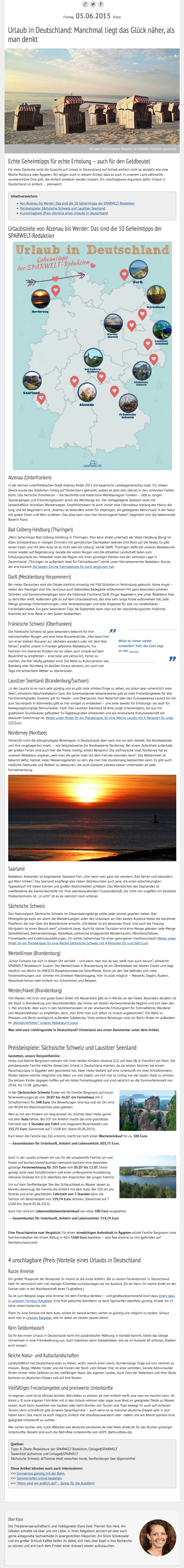 SW-Artikel_Urlaub in Deutschland